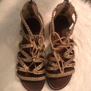 francesca's lace up sandals.